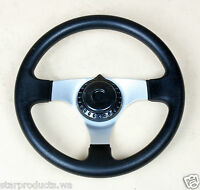 Go Kart Steering Wheel Black 295mm Diameter 200693