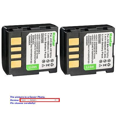 Batería para JVC BN-VF707 BN-VF707U BN-VF707US GR-D260EK GR-D270EK 7.2 V Nuevo