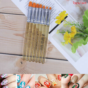 7X-Manicure-Uv-Gel-Brush-Pen-Transparent-Acrylic-Nail-Art-Painting-Brush-Too6ON