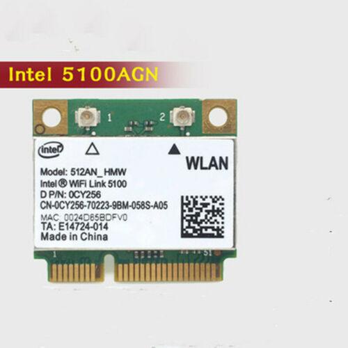 1PC Original Intel 5100AGN  512AN/_HMW    2.4G//5G  wireless network card