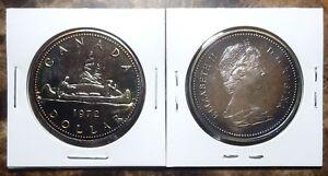 Canada-1972-Voyageur-Gem-Specimen-Silver-Dollar-with-Beautiful-Natural-Toning
