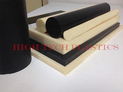 ".125/"" x 24/"" x 48/"" Natural Color HDPE Plastic Sheet Polyethylene Panel FDA NSF"
