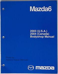 2003 mazda 6 workshop manual