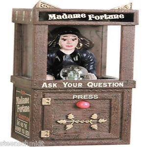 Miniature-Fortune-Teller-LIGHT-SOUND-Dollhouse-VINTAGE