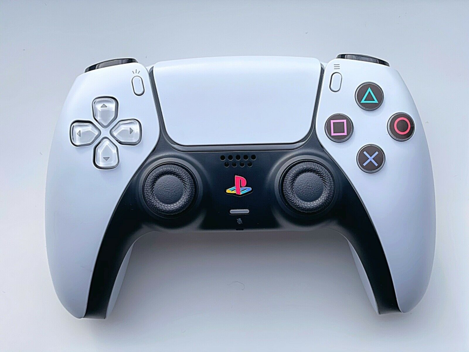 PlayStation 5 PS5 Pad Controller PS Classic Black Buttons Vinyl Overlay Stickers