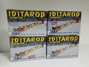 Overig Iditarod Sled Dog Racing Factory Trading Card Set Verzamelkaarten, ruilkaarten