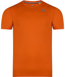 Gym New Training Details Mens About Prime Adidas T Fitness Shirt Top Orange Climalite TlwkZuOPXi