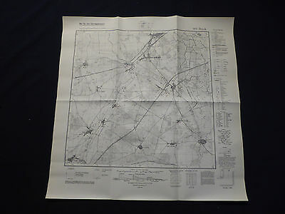 Billiger Preis Landkarte Meßtischblatt 3842 Brück, Trebitz, Linthe, Nichel, Dahnsdorf, 1945