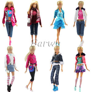 Barwa-Random-3-sets-of-high-quality-barbie-costumes-Best-gift-for-your-baby