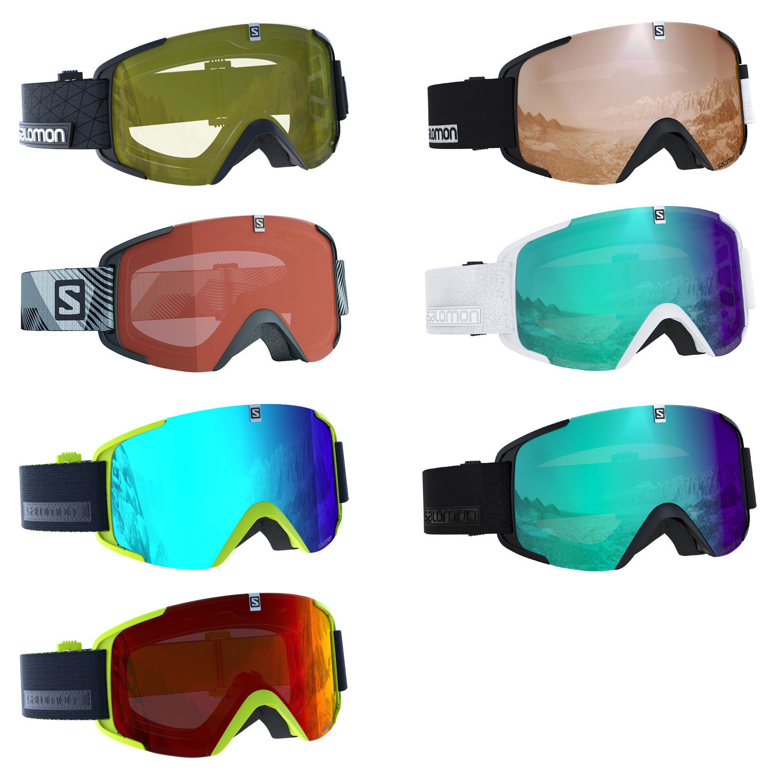 Salomon Xview x Ski Goggles Snowboard Snow Glasses