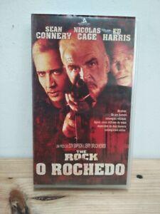 The Rock 1996 Vhs Movie Action Sean Connery Nicolas Cage 786936018042 Ebay