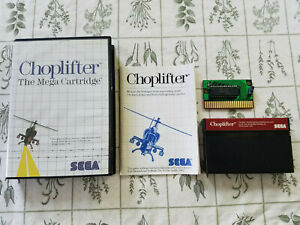 Choplifter-Sega-Master-1986-Authentic-Complete-CIB