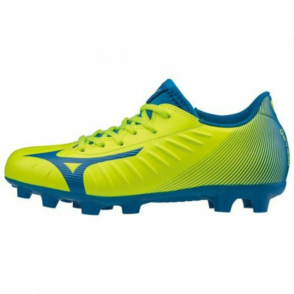 Zapatos de fútbol de Mizuno Spike Rebula 3 seleccione Jr P1GB1965 X Amarillo Azul