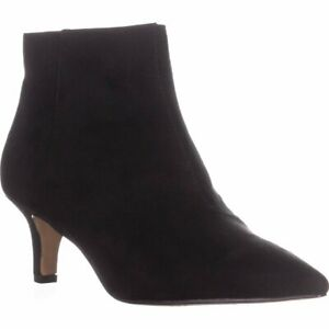 INC-International-Concepts-Womens-Zennora-Pointed-Toe-Ankle-Black-Size-5-5-sOp