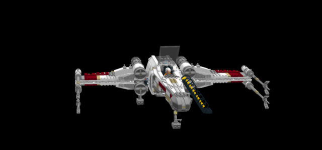 Lego Star Wars Ucs X Wing Landing Gear Instructions Only No Parts