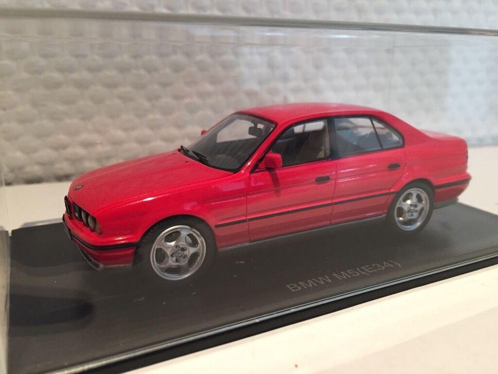 BMW M5 e34 red 1 43 Neo neu & OVP 43314