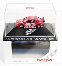 "Herpa 036122, Alfa Romeo 155 V6 TI ""Alfa Corse Team"",1:87, im Okt.    #ab1522"