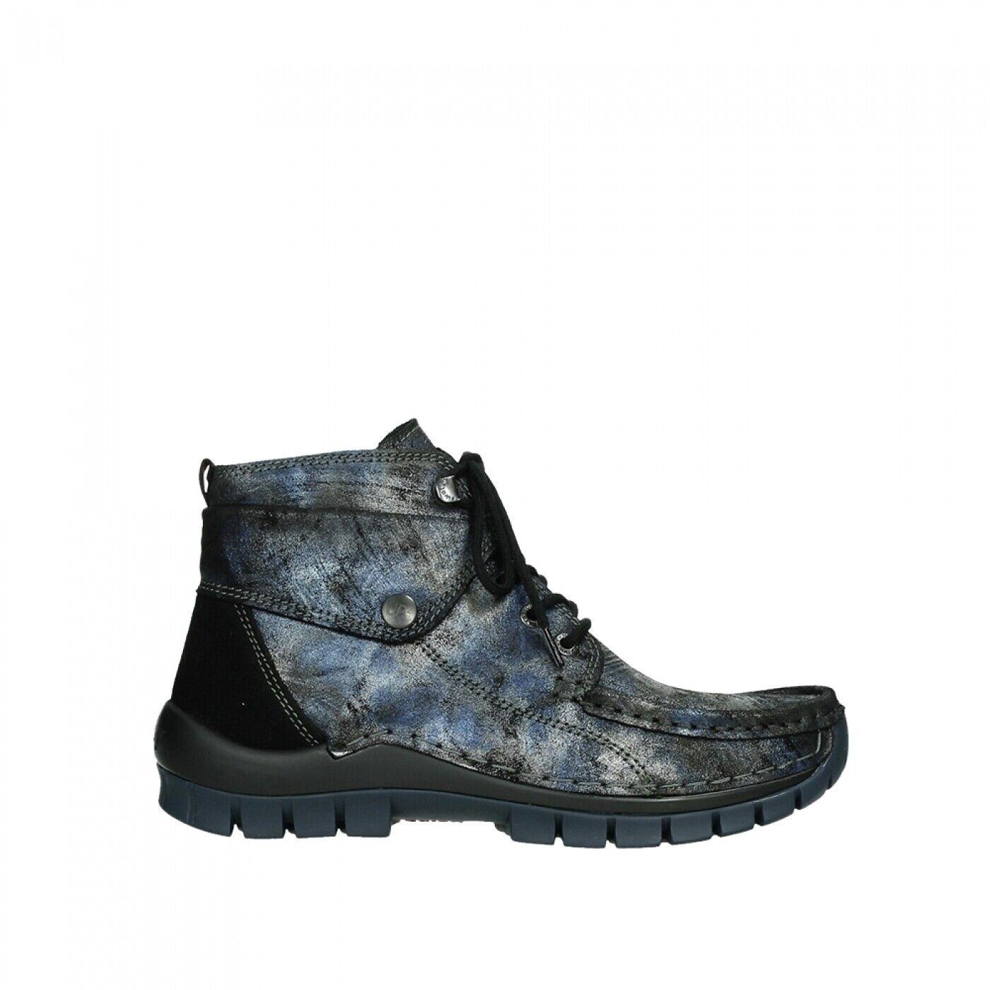 Wolky Stiefel Jump Winter CW Blau 0473646 800