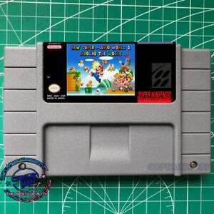 New Super Mario World 2: Around The World SNES Video Game