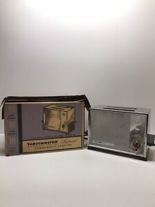 Vintage-Toastmaster-Imperial-Powermatic-Toaster-Model-B122-W-ORIGINAL-BOX-1960s
