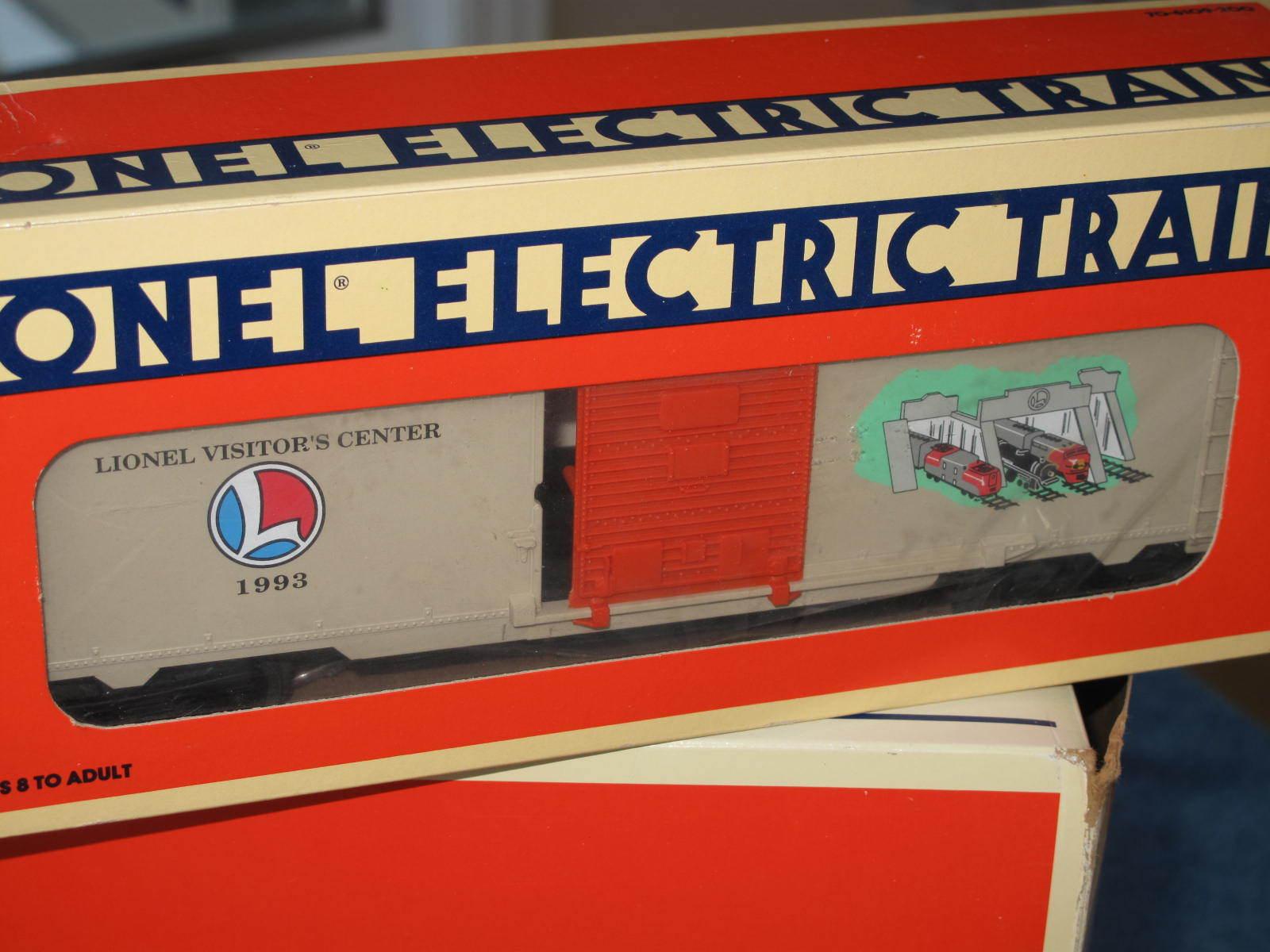 1993 lionel 6-19927 besucher center box car l0939