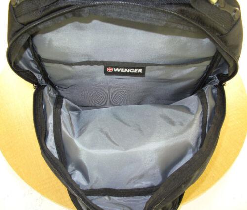 Black New Wenger /'Circuit/' Deluxe Laptop Backpack w//Tablet//eReader Pocket