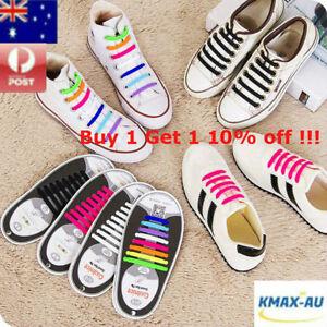 Lazy-No-Tie-Elastic-Silicone-Shoe-Laces-Shoelaces-1-Set-16pcs-Child-Man-Woman