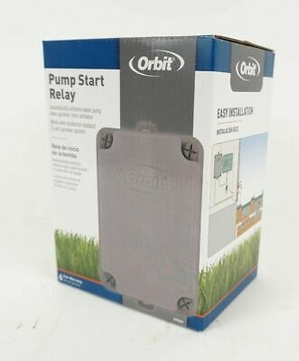 Orbit Pump Start Relay Works With 1HP-110V//2 HP-220V Pumps 57009 New 24V Systems
