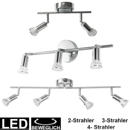 DHL LED Deckenleuchte Deckenstrahler Spot Lampe Deckenlampe 2-4 Flammig GU10