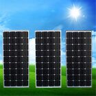 100W 12V Solar Panel & 5m Cable Battery Charger For RV Boat Caravan Motorhome