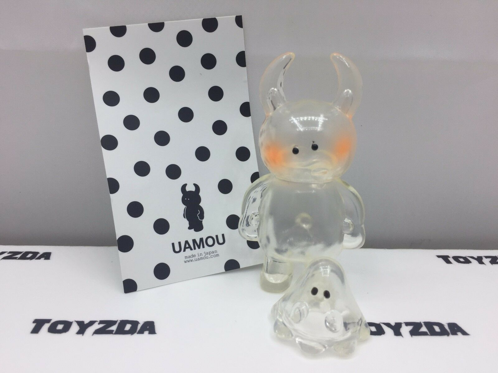 [Made In Japan] Dazed Expression - UAMOU & Boo Clear Soft Vinyl Figure 2 pc