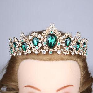 Bridal Wedding Rhinestone Crystal Tiara Hair Band Princess Prom Crown Headband S