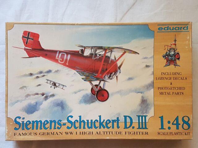 Eduard 8001 Siemens-Schuckert D.III 1:48 Neu und eingetütet