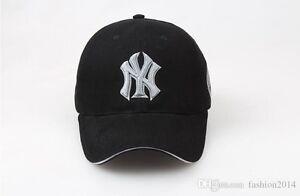 NY New York Yankees Cap MLB Pink Black Baseball Hat Adjustable ... afb71ac73b9