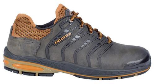 Cofra Sicherheitsschuhe S3 SRC STRIKEOUT wasserabweisendes Leder Jogging Reihe