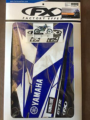 Factory Effex Sticker Kit Fit Yamaha WR250F 2001 2002