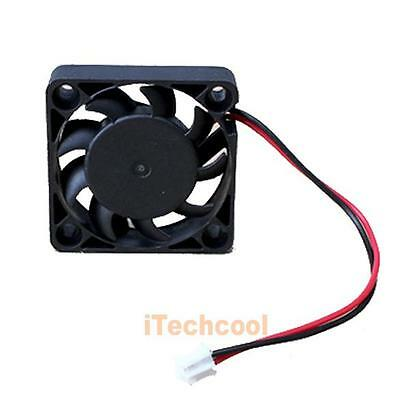 12V 2 Pin 40mm Computer Cooler Cooling Fan PC Black Brushless Chassis IDE Fan