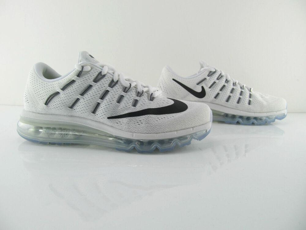 Nike Air Max 2016 Baskets running blanc New us_9  Chaussures de sport pour hommes et femmes