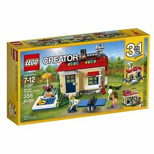 LEGO-Creator-Modular-Poolside-Holiday-Building-Set-31067-NEW-NIB