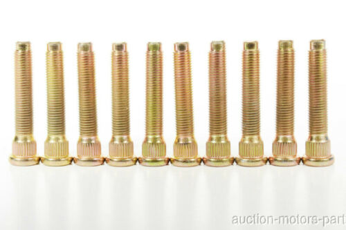50mm Long Extended Wheel Studs Fit Toyota Sienna V6 m12x1.5 K:14.22mm Year 2005