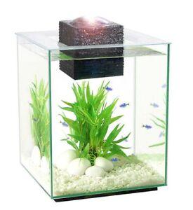 Hagen Fluval Chi 2 19L Glass Aquarium Fish Tank Kit with Filter Light 10505