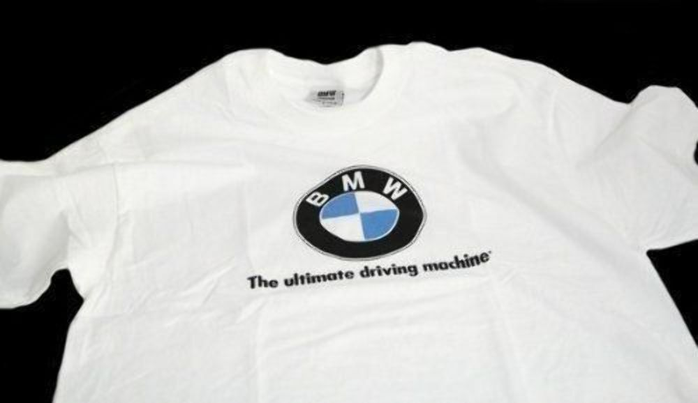 Hot Tshirt BMW The Ultimate Driving Shirt Short Sleeve Size USA S-2XL