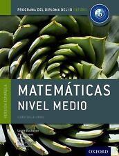 IB MATEMATICAS NIVEL MEDIO LIBRO DEL ALUMNO - NEW PAPERBACK BOOK