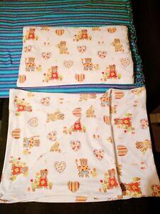 Dreamtex Thermo Fleece Kinder Bettwäsche Deckenbezug Kissen Süße