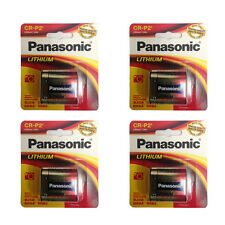 4 Panasonic CR-P2PA/1B CRP2 EL223A DL223 K223LA 6v Lithium Battery FRESH