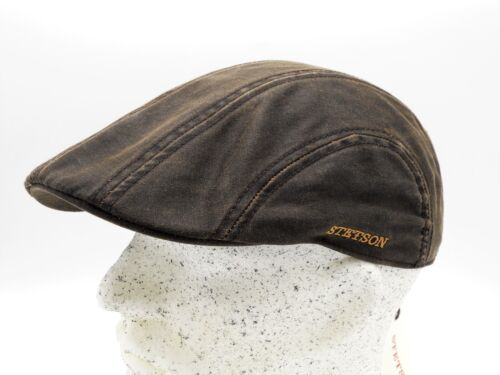 Stetson Ivy CO//PE Schiebermütze Flatcap Duckcap Mütze Vintage Schirmmütze Kappe