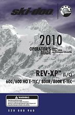 2009 ski doo xp manual