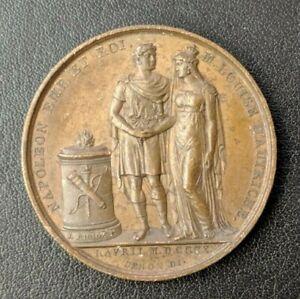 Empire-Napoleon-Ier-Medaille-Mariage-a-Paris-avec-Marie-Louise-1810