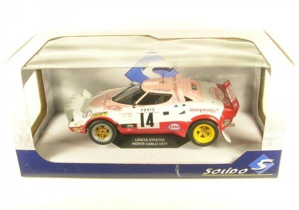 LANCIA Stratos no. 14 Rtuttiy Monte autolo 1977 (Dacremont-Gtuttii)