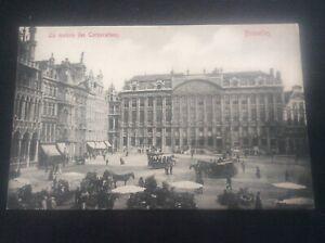 La-Maison-des-Corporations-Bruxelles-Brussels-Belgique-Belgium-Postcard-Horse-s